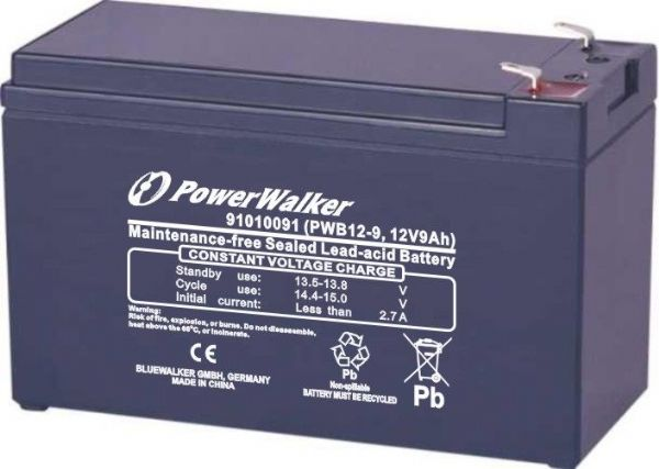 PowerWalker PWB12-7 Replacement Battery